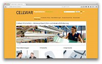 Cooperation: Creating the template system for the website 'Cellwar' based on ProcessWire CMS